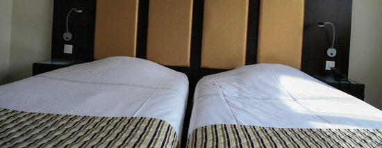 Hôtel du Bollenberg : Chambre twin, deux lits jumeaux