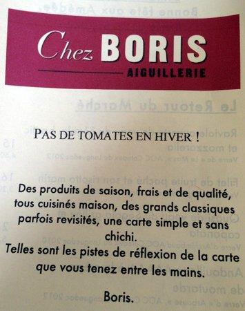 Chez Boris et Leticia : Chez Boris Aiguillerie // Montpellier