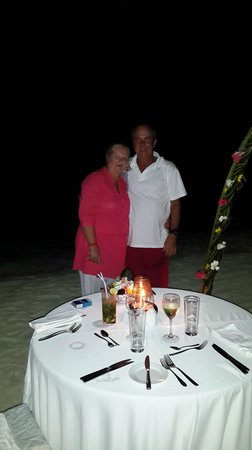 DoubleTree by Hilton Resort Zanzibar - Nungwi: Birthday Dinner