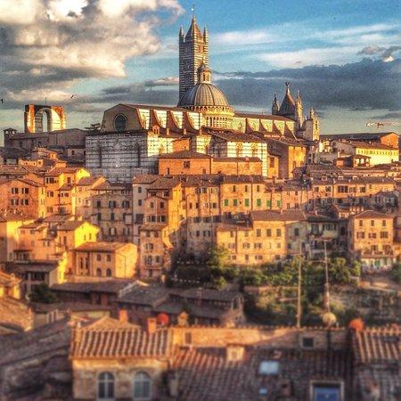 B&B Poggio Malavolti : The view at sun down