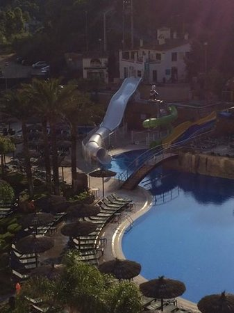 Rosamar Garden Resort: view of water slides