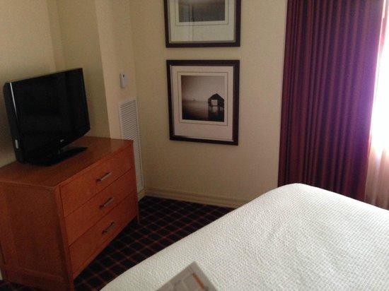 Residence Inn Atlanta Downtown: Coin Chambre