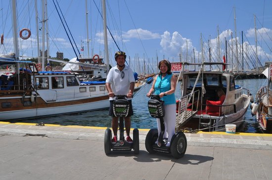 Aegean Gingers Segway Tours: Bodrum Harbour