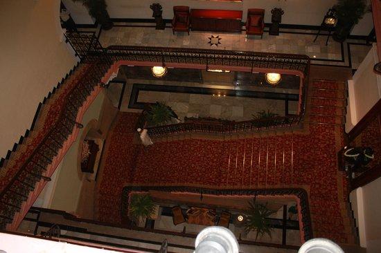 The Taj Mahal Palace: Stairs
