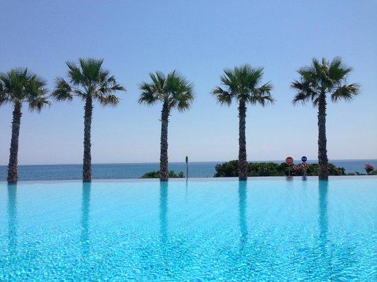 TUI Sensimar Tesoroblu Hotel & Spa: The view from my sun bed
