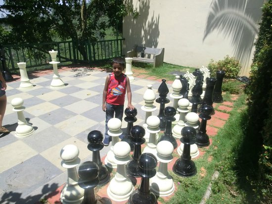 Club Mahindra Munnar: chess board