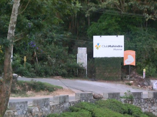 Club Mahindra Munnar: entrance