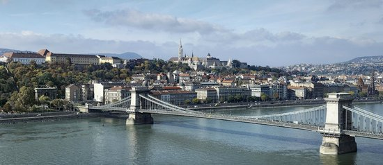 InterContinental Budapest: Dazzling view from the hotel