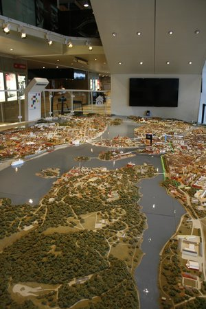 Kulturhuset: Maquette 3D Stockholm
