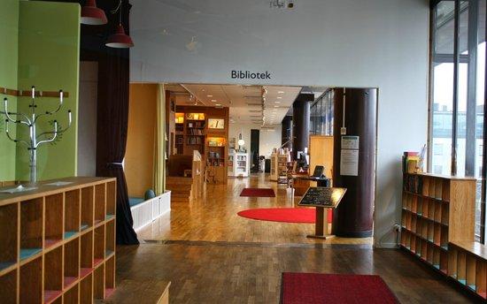 Kulturhuset: Bibliothèque