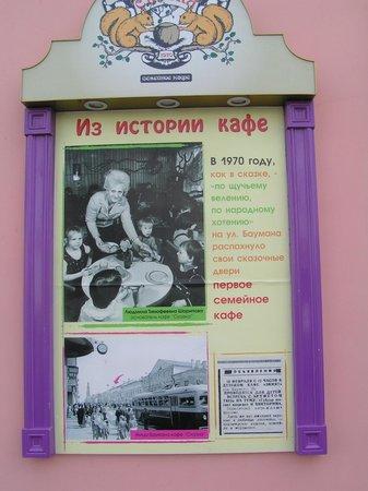 Family Cafe Skazka : История кафе.