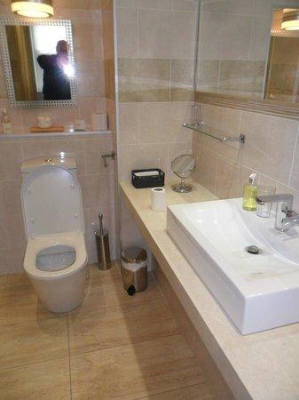 Castle View Guest House: Bathroom (part view)