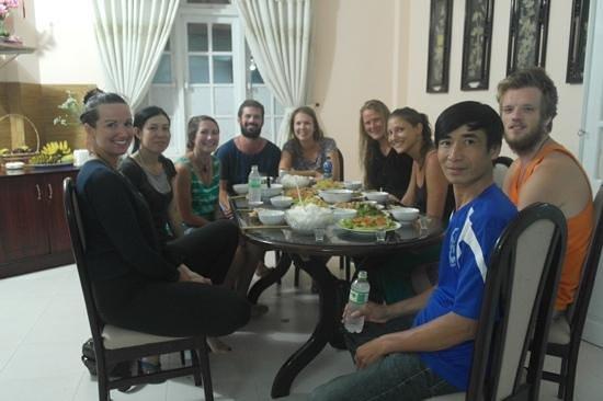Camellia Hotel: Camellia family dinner