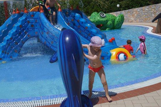 Pilot Beach Resort: Детская водная зона