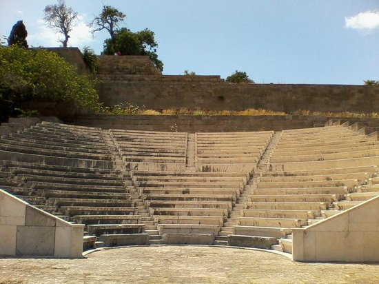 The Acropolis of Rhodes: Theatre