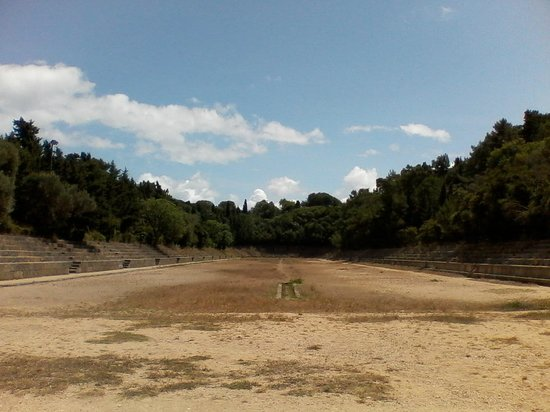 The Acropolis of Rhodes: Stadium