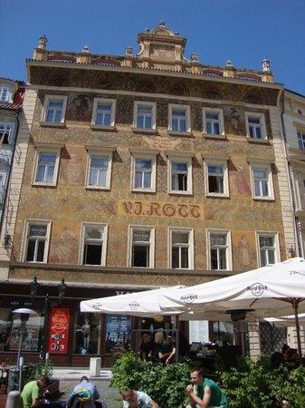 Rott Hotel : la piazza dell'hotel Rott