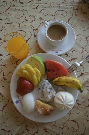 DIC Star Hotel : Yum, breakfast :)