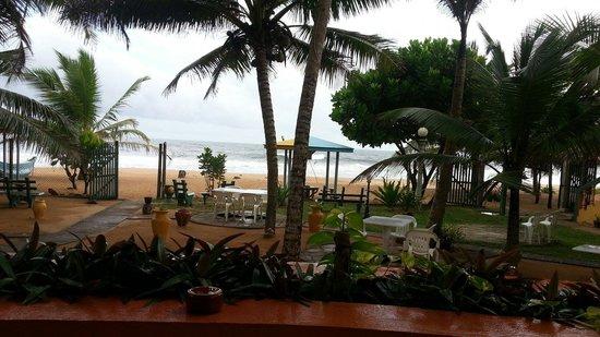 Oasey Beach Hotel : Beach view