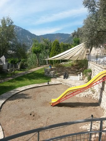 Viverde Hotel Loryma: Spielplatz an den Kinderpools