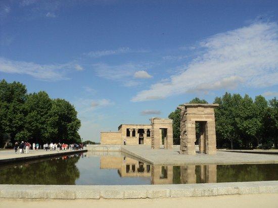 Templo de Debod : vista