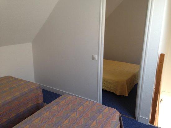 Les Terrasses de Trestel : cottage: 2 petites chambres à l'étage