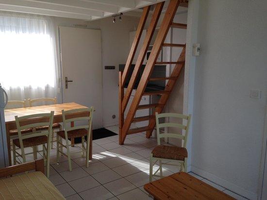 Les Terrasses de Trestel : cottage escalier de mezzanine (un peu pentu)