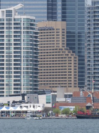 InterContinental Toronto Centre: View of hotel from Toronto Islands ferry