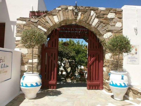 Hotel Aegean Village: Entrée
