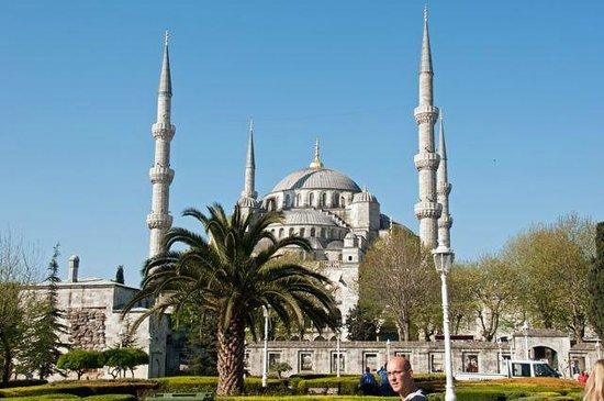 Mosquée Bleue (Sultan Ahmet Camii) : Blaue Moschee/ Sultan Ahmed Moschee