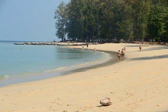 Nai Yang Beach : Nia Yang Beach north end