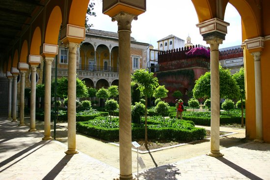 La Casa de Pilatos - patio, Siviglia
