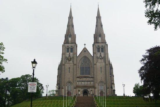 St. Patrick's Cathedral (Roman Catholic): Scalinata