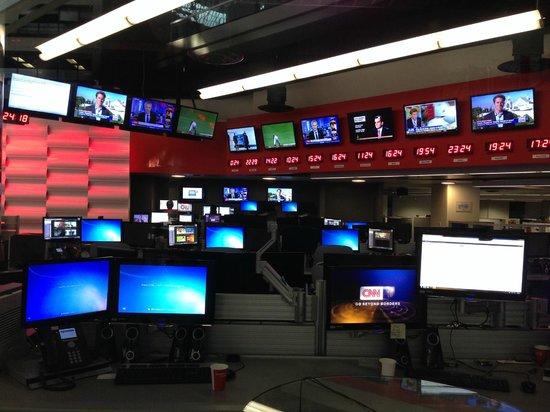 CNN Studio Tours : CNN center