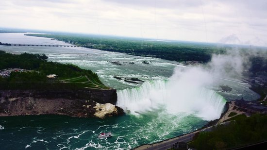 Niagara Falls : Canadian side. Breathtaking