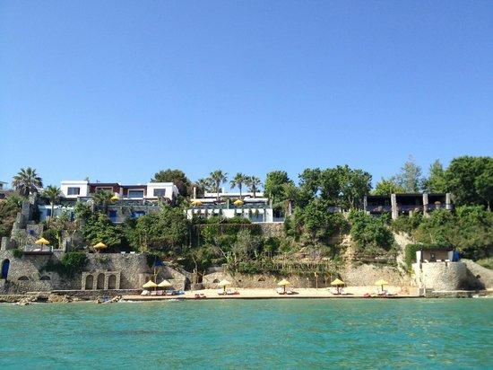 Porto Zante Villas & Spa: View of hotel
