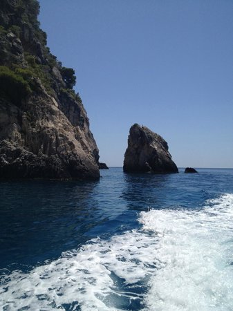 Porto Zante Villas & Spa: Coastline on boat trip