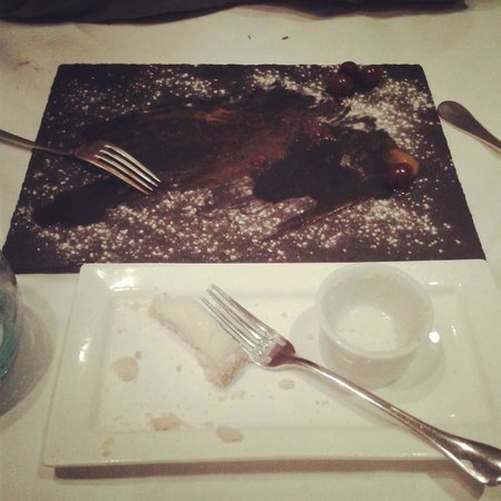 Penhelig Arms: Forgot to take a picture of the deserts but as you can see from the clean plates they were very