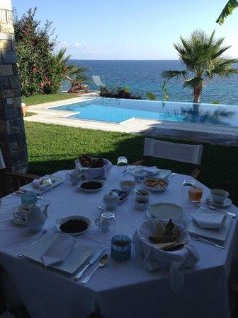 Porto Zante Villas & Spa: breakfast
