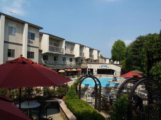 Residence Inn Plainview Long Island: Pool Area
