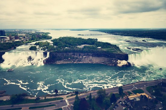 Skylon Tower: From the tower