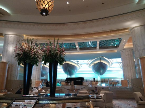 Grand Hyatt Dubai : Lobby area