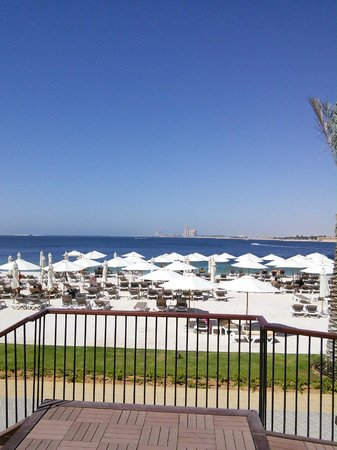 Rixos Bab Al Bahr: The beach