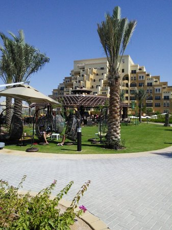 Rixos Bab Al Bahr: Looking towards the Beach bar