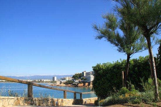 Hotel Best Mediterraneo: вид со смотровой площадки
