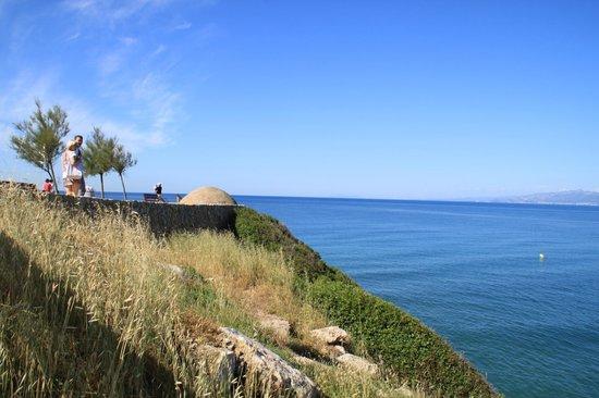 Hotel Best Mediterraneo: смотровая площадка над пляжем
