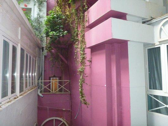 Hotel Santo Domingo Madrid : Aussicht vom Zimmer