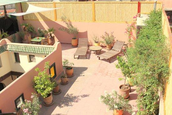Dar Choumissa: Terrasse