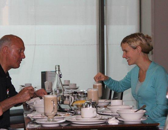 Clayton Hotel Cork City: Tactics at breakfast