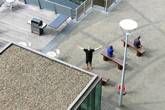 Clayton Hotel Cork City: Crew exercise